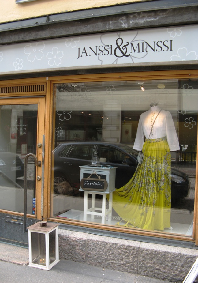 Janssi & Minssi ikkunateippaukset