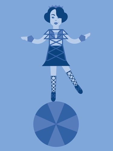 Sirkusneito Liselotte. iPad & Assembly.